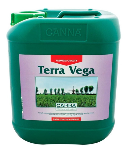 Imagen 1 de 1 de Fertilizante Canna Terra Vega 5l