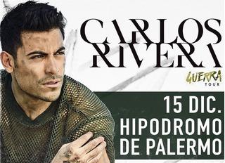 Entradas Carlos Rivera Hipodromo Palermo Campos (envio S/c)