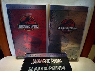 Peliculas Vhs Jurassic Park Y El Mundo Perdido.