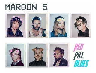 Maroon 5 Red Pill Blues Deluxe 2 Cd Nuevo Original