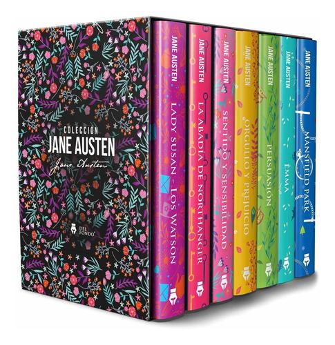 Imagen 1 de 9 de Colección Completa Novelas Jane Austen Caja 7 Libros