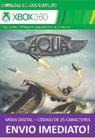 Xbox 360 Game Aqua: Naval Warfare Mídia Digital 25 Dígitos