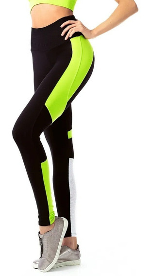 Legging Fusô Color Azure Preto Vestem