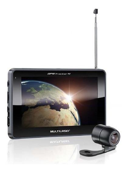 Gps Multilaser Tracker Iii Tela 7 Câm De Ré Tv Digital Gp0