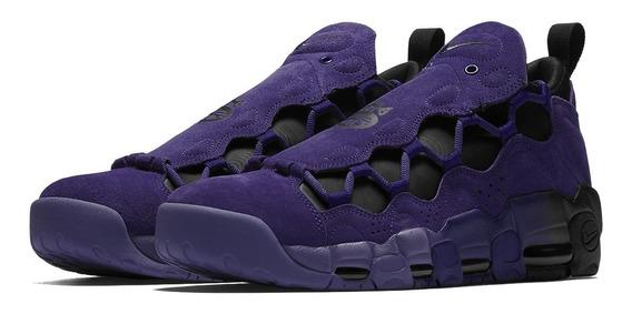 Tenis Nike Air More Money Qs Roxo Jordan Pippen Lebron