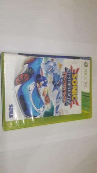 Original Xbox 360 Sonic & All Stars Racing Tranformed Fisica