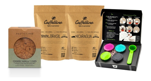 Kit Tentación Nespresso Centroamérica Con Cookies