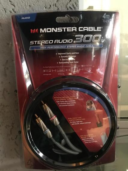 Cabo Áudio Estéreo Monster Mc 300i- 4m Core - Hificlub