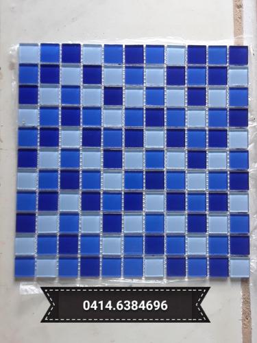 Mosaico De Vidrio Para Baños