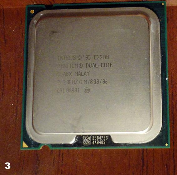 Processador Intel Pentium Dual Core 2,20ghz 1m 800 06