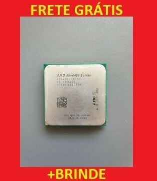 Amd A6 6400k Black Edition 4.1 Ghz +brinde