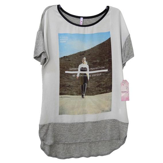 Blusa Para Dama Estampada Talla 30 G | Envío Gratis