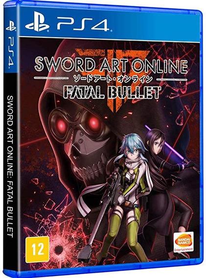 Sword Art Online Fatal Bullet Ps4 (novo) Mídia Física