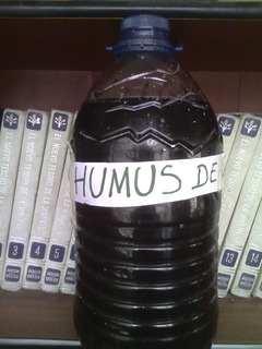 Humus Lombriz Roja Californiana Liquido + Regalo 2 Lombrices