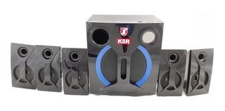 Bocinas Bluetooth 5.1 Home Theather Usb Mp3 Fm Aux 18-9325
