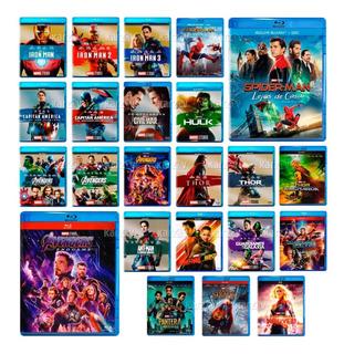 Marvel Universe Coleccion 22 Peliculas Fase 1 2 3 Blu-ray