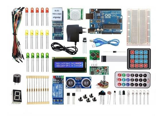 Kit Arduino Uno R3 Automação Residencial - Ethernet Modifica