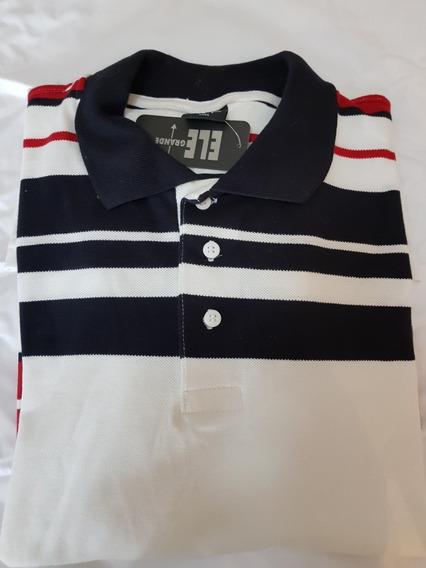 Camisa Polo Plus Size. Tam. Xxgg