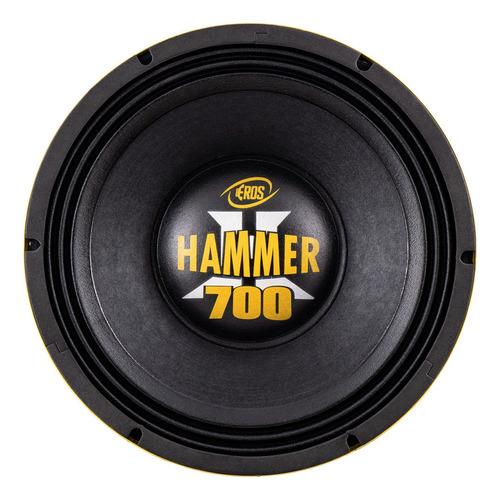 Alto Falante Woofer Eros E-12 Hammer 700 12 Polegada 700 Rms
