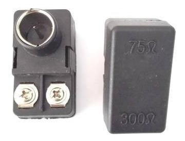 Cochinito Conector Adaptador Para Antena Tv