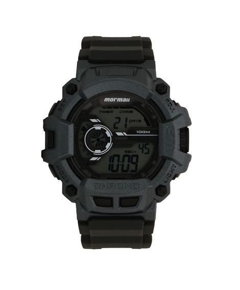 Relógio Mormaii Digital Mo1105ac8c Cinza
