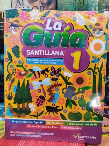 Imagen 1 de 2 de Libro Paquete Guía Santillana 1° Primaria + Complementos Ed.