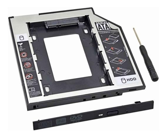 Adaptador Universal Caddy 2º Hd Ssd/dvd Notebook Com Nfe