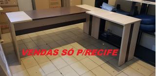 Estação De Trabalho 1,80x1,50 Usada - Vendas Só P/recife