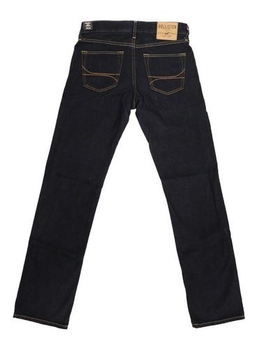 Jeans Hollister Hombre Slim Straight 100 Original Nuevo Clnshop