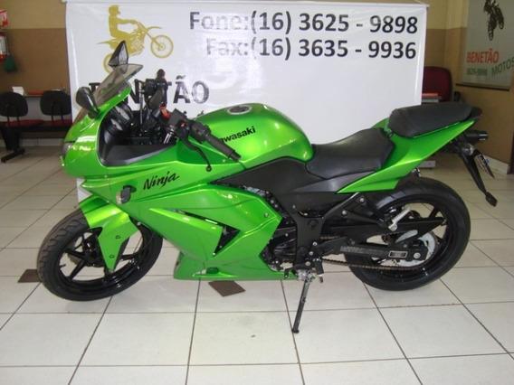 Kawasaki Ninja 250 R Verde 2012