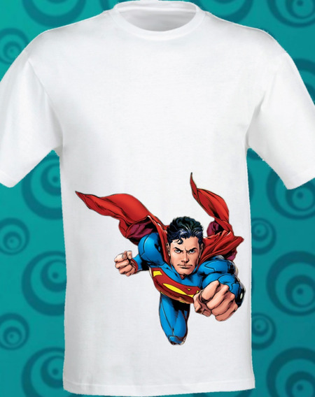 Playera Superman Classic Sublimada Dc Comic 099