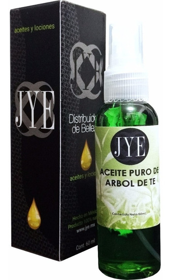 1 Aceite Natural Jye Árbol De Té Puro Y Natural 60ml