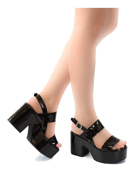 Zapato De Mujer Sandalia Con Plataforma Calidad