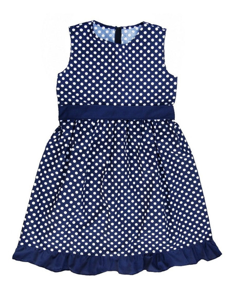 Vestido Nena 12-14-16 Lunares Niña