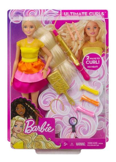 Barbie Fashion Peinados De Ensueño Rizos Supremos