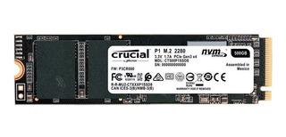 Disco sólido interno Crucial P1 CT500P1SSD8 500GB