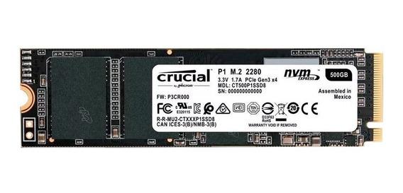 Disco sólido interno Crucial CT500P1SSD8 500GB
