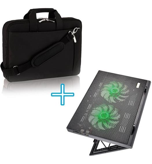 Bolsa Notebook Resistente Barata Feminina + Suporte 2 Cooler