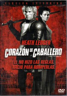 Corazón De Caballero ( Heath Ledger ) Dvd Original