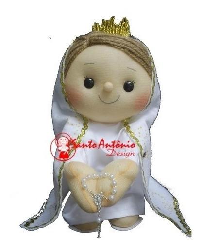 Boneca Nossa Senhora De Fátima