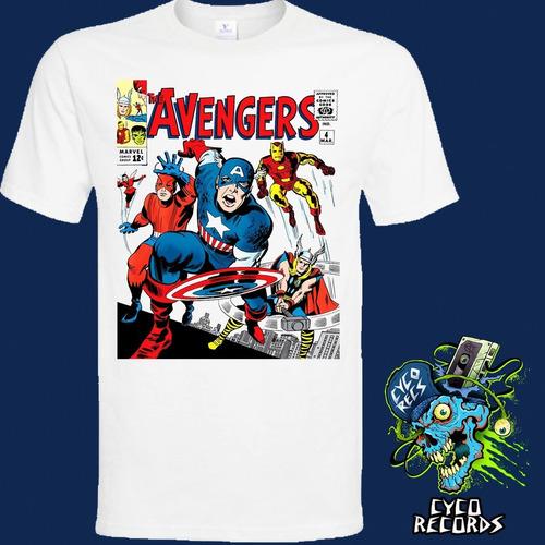 Imagen 1 de 2 de Avengers-4 - Comics - Polera