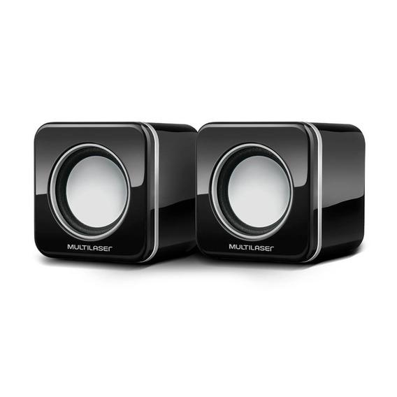 Mini Caixa De Som Multilaser Sp089 2.0 Usb 4w Rms