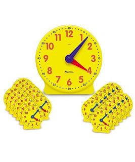 Kit De Reloj De Aula De Recursos De Aprendizaje