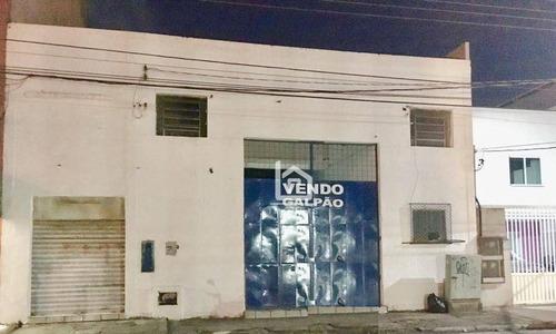 Imagem 1 de 7 de Galpão À Venda, 400 M² Por R$ 550.000,00 - Centro - Vila Velha/es - Ga0001