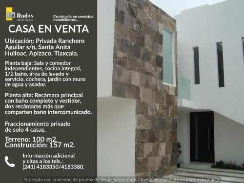 Casa Sola En Venta Lomas De Santa Anita