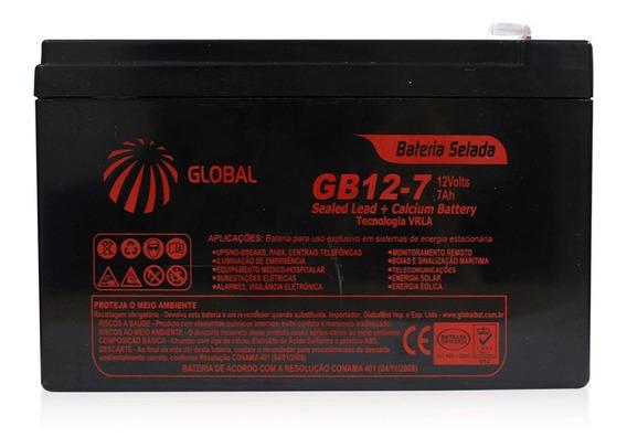 Bateria 12v 7ah Selada 12volts 7amperes Nobreak