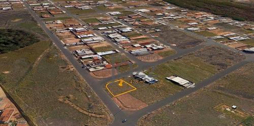 Imagem 1 de 6 de Terreno À Venda, 478 M² Por R$ 270.000,00 - Parque Terras De Santa Maria - Hortolândia/sp - Te1269
