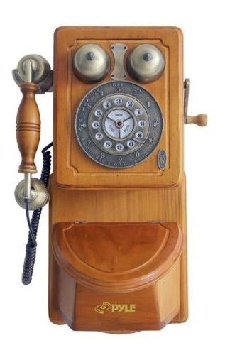Pyle Prt45 Retro Telefono De Pared Pais Antiguo - Embalaje A
