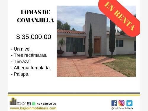 Casa Sola En Renta Lomas De Comanjilla