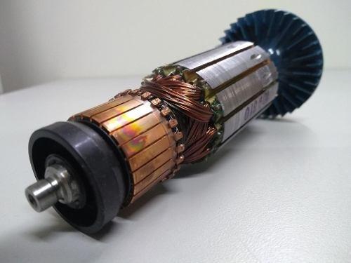 Induzido Esmerilhad Original Bosch Gws14-180 110v + Carvão